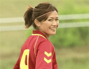 川澄奈穂美 笑顔