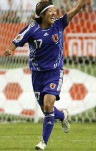 大儀見 2007W杯