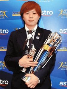 2011アジアサッカー連盟女子最優秀選手賞 宮間あや