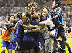 2011W杯 勝利の瞬間
