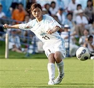 鮫島選手 マリーゼ時代