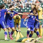 【ハイライト動画】なでしこジャパン オーストラリアを撃破! 女子W杯準々決勝結果【ベスト4進出】