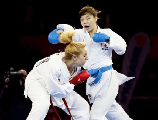 植草歩 2016年10月 世界空手選手権決勝