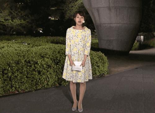 林美沙希 テレビ朝日アナウンサー O脚